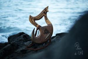 Lyre Tivale Création Atelier Skald Harpe Lyre
