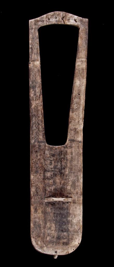 Lyre alemanique de trossingen VIème Siècle Atelier Skald