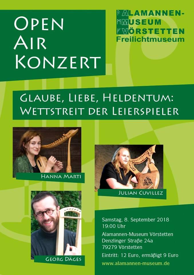 Atelier Skald Concert en plein air au musée Alamannen-Freilicht de Vörstetten