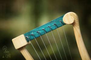 Lyre Gauloise Lira Galica Lyre Celtic Gaulish Music Atelier Skald