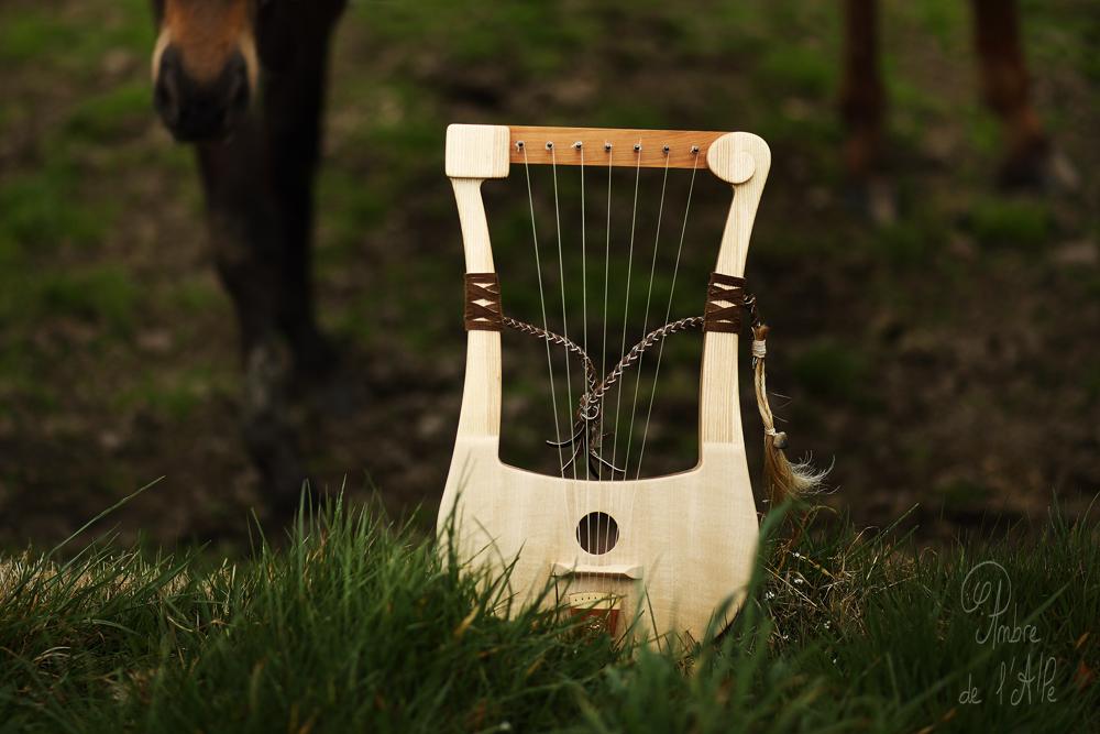 instrument celte Kelt music lyre gauloise