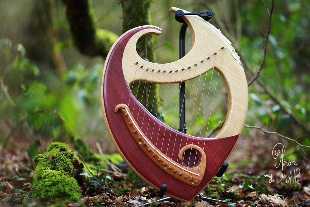 Harpe Lyre Gaëlia – Amarante