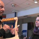 Alan Stivell Lyre Gauloise Atelier Skald France Bleu