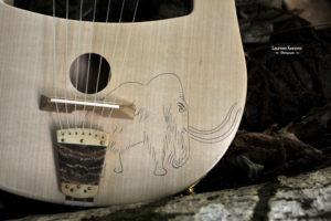 Lyre Gauloise Mamouth Gallic Lyre Lira Galica Gaulish Music