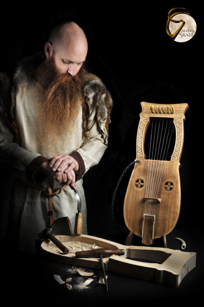 Lyre de Kravik Lyre Viking viking instrument nordic lyre